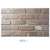 Wholesale HD701 Building Wall Material Handmade Thin Veneer Brick Indoor With High Strength from china suppliers