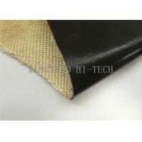 Wholesale Black Color Fluorin Coated Fiberglass Fabric , PTFE Coated Fiberglass Cloth from china suppliers