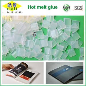 Wholesale EVA Polypropylene Hot Melt Adhesive , Hot Melt White Glue For Shoe / Book Binding from china suppliers