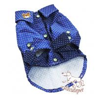 Wholesale Blue spot dog shirt, 5 sizes, new style in 2013 from china suppliers