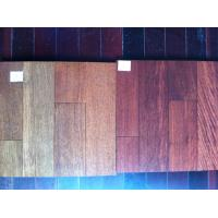 Wholesale solid Taun wood flooring,taun hardwood flooring from china suppliers