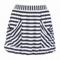 Wholesale Knit Striped Skirt with Pockets from china suppliers