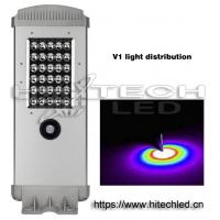 Wholesale Hitechled HT-SS-A110 10w 1000lm~2000lm all in one solar powered led street light from china suppliers