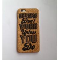 Wholesale Cork iPhone 6/6s/plus Case with full color printing logo from china suppliers