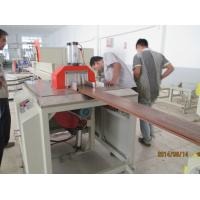 Wholesale Low noise wood plastic extrusion line for floor fence decking WPC profile from china suppliers