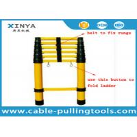 Quality FRP Insulation Ladder Safety Tools Multi - Section Insulated Telescopic Ladder for sale