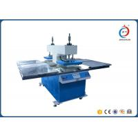 Quality Hydraulic Embossing Four Station Heat Transfer Printer Machine For Garments for sale