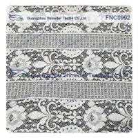 China Floral Trident Polka dots Cotton Nylon Lace Fabric For Dressing  152CM Width for sale