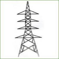 Wholesale 220KV Electric Power Transmission Line Angle Steel Tubular Angle Steel Tower from china suppliers