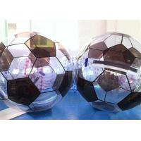 Wholesale Football Shape Colorful Inflatable Water Walking Ball For Rentals from china suppliers