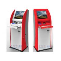 Quality Automatic Bill Payment Kiosk , Metal Keyboard / Encrypted PCI Pin Pad Financial Service Machine for sale