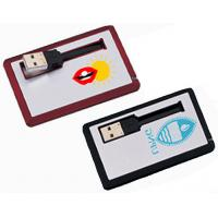 Wholesale Custom Aluminium High Speed Business Credit Card Usb flash drive 2GB, 4GB, 8GB, 16GB from china suppliers