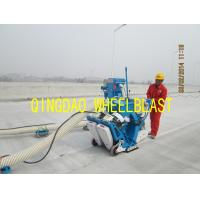 Buy cheap Road surface shot blasting machine portable shot blasting machine from wholesalers