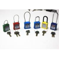 Wholesale G31 26mm steel wire Padlock , Safety steel lockout from china suppliers