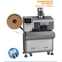Wholesale Fully Automatically Power Cord Cable Wire Crimp Machine Automatic Wire Crimper from china suppliers