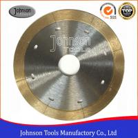 Wholesale 105mm - 350mm Sintered Ceramic Tile Saw Blades For Porcelain Cutting with Narrow Laser Cut Key slot from china suppliers