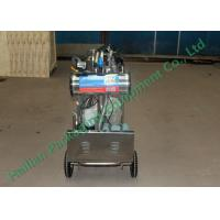 Wholesale Agriculture Cattle Mobile Milking Machine , portable goat milking machine from china suppliers