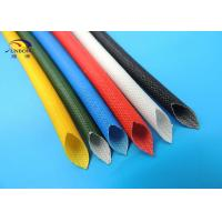 Wholesale 3.5mm Electrical Wire  Insulating Silicone Fiberglass Sleeving Fiber Glass Sleeve from china suppliers