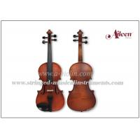 Wholesale Solid Straight Grain Conservatory Spruce Top Flamed Maple Wood Violin from china suppliers