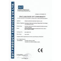 Pinghu kaipunuo sanitary ware Co.,Ltd. Certifications