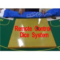 Wholesale Remote Control Electronic Dice System for Gambling Cheat from china suppliers
