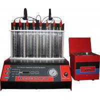 Wholesale Automatic Car Fuel Injector Cleaning Machine With Mono Injector ,8 cylinders, 50r/min from china suppliers