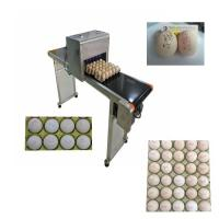 Wholesale Automatic Egg Code Printing Machine , Small Character Inkjet Coder For Eggs from china suppliers