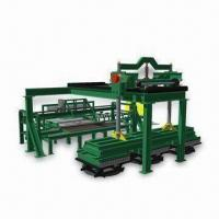 Buy cheap Block Making Machine with Automatic Brick and Block Unloading System from wholesalers