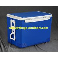 Wholesale Hot Sale 70 Liter PU Insulation Blue Plastic Ice Cooler Box from china suppliers