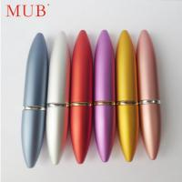 Quality Colorful 6ml bullet lipstick aluminum perfume spray bottles perfume pen for sale