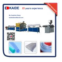 Wholesale PVC Fiber Garden Hose extruder machine supplier KAIDE from china suppliers