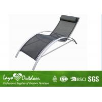 Wholesale Stackable Chaise Lounge Chairs Patio Sun Loungers Folding Outdoor Furniture from china suppliers