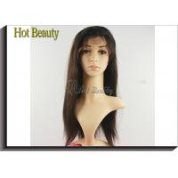 Wholesale Customized Human Hair Front Lace Wigs Dyed Color Remy Hair Material Lace Front Wigs from china suppliers