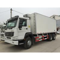 Wholesale Refrigerated Box Truck With Euro III , Refrigerated Delivery Truck 6X4 from china suppliers