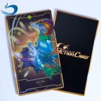 Wholesale 0.35mm PET 3D Lenticular Playing Cards / Gold Game Cards Oil - Resistance from china suppliers