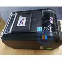 Quality 110mm wide thermal transfer label printer 300dpi black and white type  barcode printer for sale
