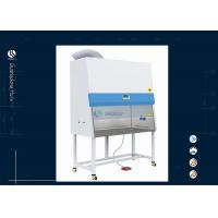 Wholesale B2 Safety Microbiology Lab Equipment , Clean Bench Small Fume Hood from china suppliers