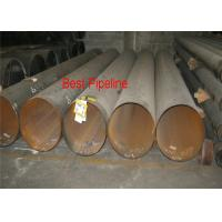 Wholesale ASTM A252 Gr1 Gr2 LSAW Steel Tube Wear Resistance Cold Forming Black Steel Pipe from china suppliers