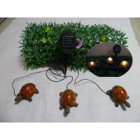 Wholesale Set of 3(2Big and 1Small)Green turtles With Solar Light from china suppliers