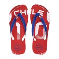 Wholesale Embossed Flip Flops Beach Flip Flops EVA Slippers from china suppliers