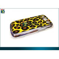 Wholesale Durable Pc Chrome Plastic Samsung Galaxy Protective Cases For Galaxy S3 With Leopard Backside Sticker from china suppliers