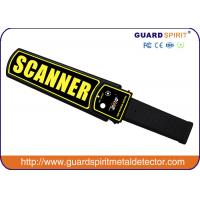 Wholesale 9V high sensitivity earphone hand-held metal detector / metal scanner from china from china suppliers