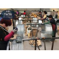 Wholesale Anti Rust 304 Stainless Steel Razor Wire BTO22 Type 500mm Coil Diameter from china suppliers