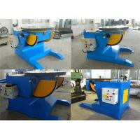 4500lbs Capacity Tilting Rotary Pipe Welding Positioners with Motor Driven Speed Regulation