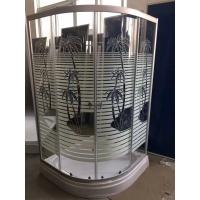 Wholesale Palm tree shower cabin with tray , bathroom shower cubicles pop - up Waste drain from china suppliers