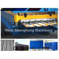 Wholesale Sturdy Construction Roof Roll Forming Machinery Automatically 12KW 10.5T from china suppliers