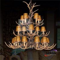 Wholesale MASO Three Layer Antler Shape Chandelier For Hotel Indoor Project Lighting MS-P2015 from china suppliers