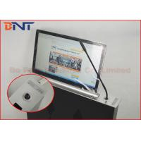 Quality Slim Conference Tabletop Motorized LED / LCD Monitor Lift With FHD Screen for sale