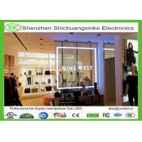 Wholesale P5 glass window RGB Transparent  LED Screen 6000 nits brightness Cree chip from china suppliers