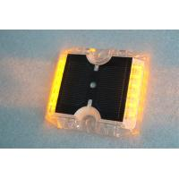Wholesale 12 LEDs Solar Powered Road Studs 115×105×20 MM -20°C +70°C Work Temperature from china suppliers